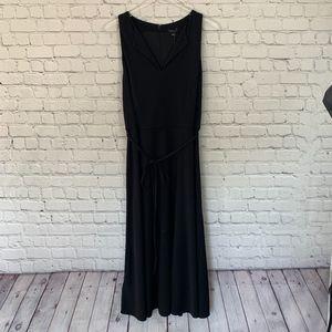 NWT Ann Taylor Tie Waist Midi Dress